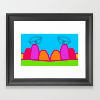 Eyes are Watching Framed Art Print