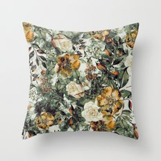 RPE FLORAL Throw Pillow