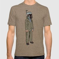 Boba Steez Mens Fitted Tee Tri-Coffee SMALL