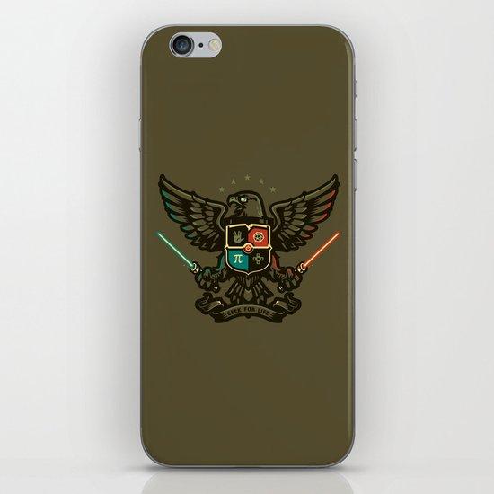 Geek For Life iPhone & iPod Skin