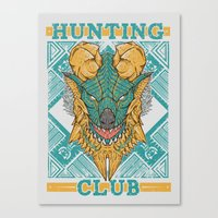 Hunting Club: Jinouga Canvas Print