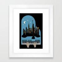 Rhapsody in Blue - Gershwin Framed Art Print