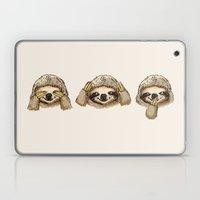 No Evil Sloth Laptop & iPad Skin