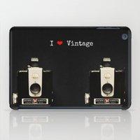 I ♥ Vintage iPad Case