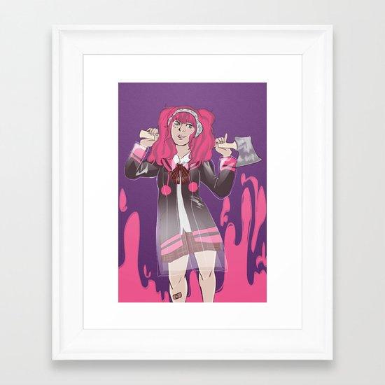 Unlucky Clover Framed Art Print