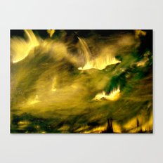 Cosmic eruptions Canvas Print