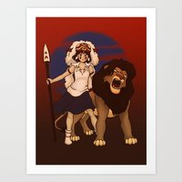 Great Kings Of The Past Art Print