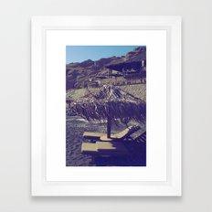 Private Paradise II Framed Art Print