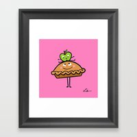 Apple Pie Framed Art Print