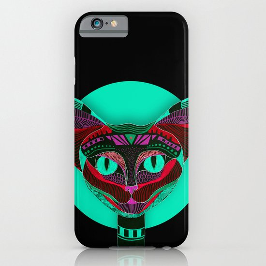 Black CAT- Black iPhone & iPod Case
