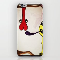 Get your mind in the gutter iPhone & iPod Skin