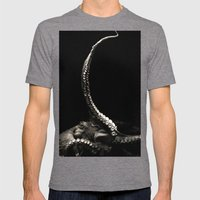 The Kraken's Whip Mens Fitted Tee Tri-Grey SMALL