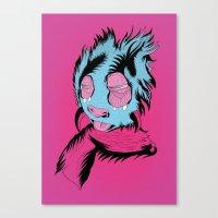 Funny Guy Canvas Print