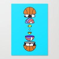Big Balls Canvas Print
