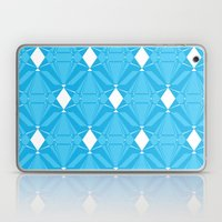 Abstract [BLUE] Emeralds Laptop & iPad Skin