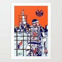 New York Knicks Art Print