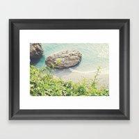 By The Sea-Spain Framed Art Print