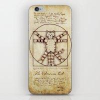Vitruvian Cat iPhone & iPod Skin