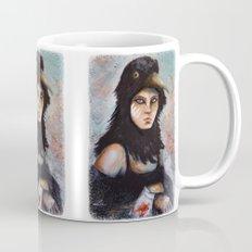 Raven girl Mug