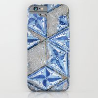 iPhone & iPod Case featuring  Tiling with pattern by Lucie
