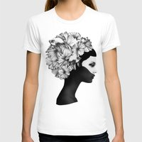 world T-shirts featuring Marianna by Ruben Ireland