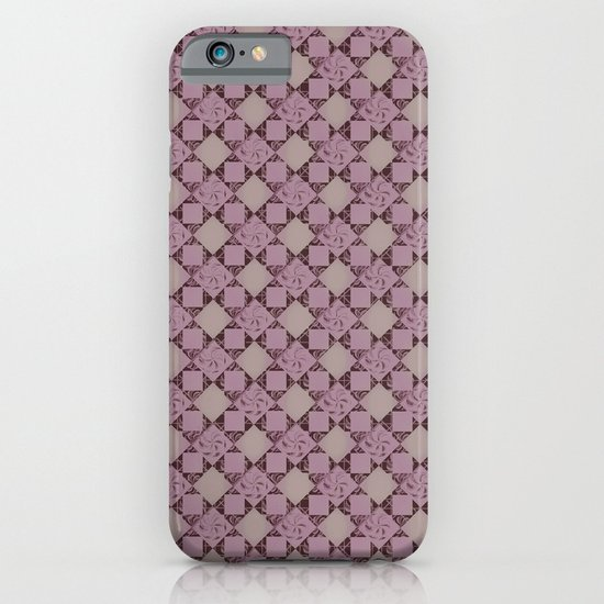 pattern (pale pink#2) iPhone & iPod Case