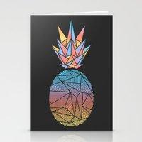 Bakana Rays Pineapple Stationery Cards