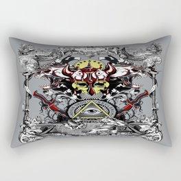 Rectangular Pillow - Battle Angels - Eduardo Doreni