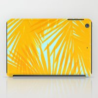Palms Tangerine & Blue iPad Case