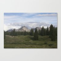 Molas Lake Canvas Print