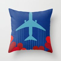 Langoliers Throw Pillow