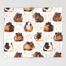 The Essential Guinea Pig Throw Blanket