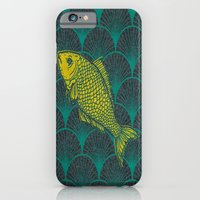 iPhone & iPod Case featuring Swimming Upstream 3 by David Andrew Sussman