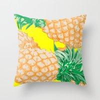 Pineapple, 2013. Throw Pillow