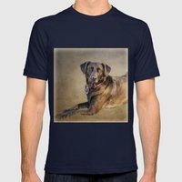 Good Girl Mens Fitted Tee Navy SMALL