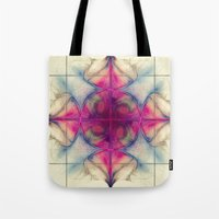 The Cross of Eternity Nebula Tote Bag