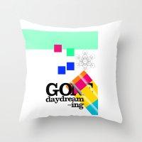 Gone Daydreamin'—art P… Throw Pillow