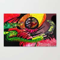 Boa vs Cobra Canvas Print