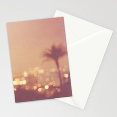 Summer Nights. Los Angeles at night photograph. Stationery Cards