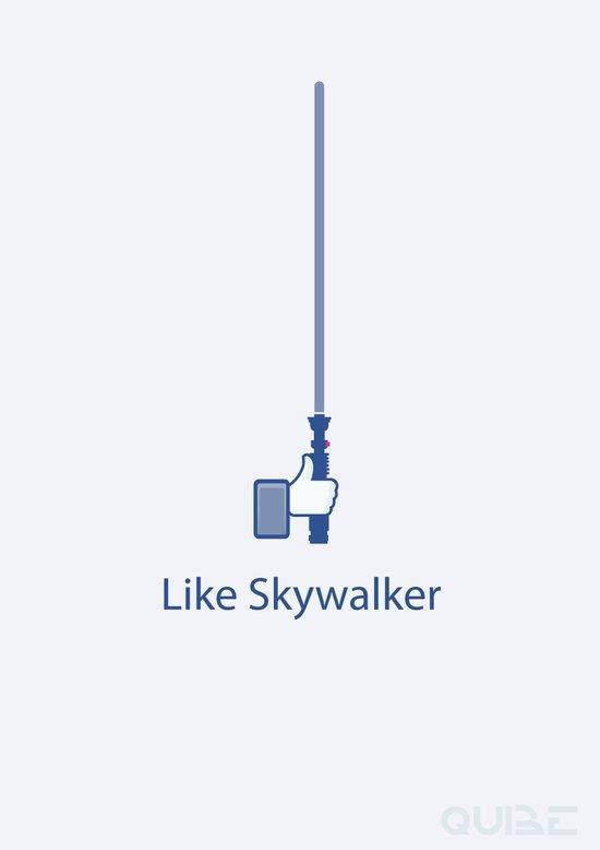 Coupling Up (accouplés) Like Skywalker Art Print