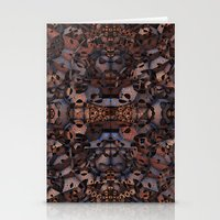 Metal Monsters Stationery Cards