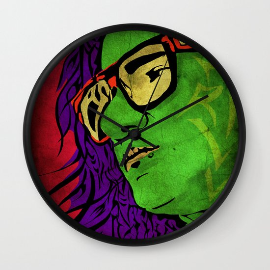 Skrillex Wall Clock