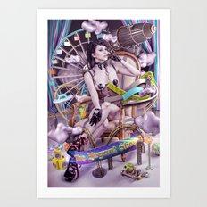 THE ELEGANT SHOW Art Print