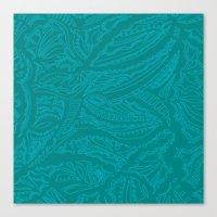 Blue Blue  Canvas Print