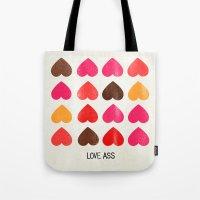 LOVE ASS Tote Bag