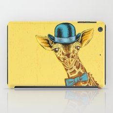 I'm too SASSY for my hat! Vintage Painted Giraffe. iPad Case