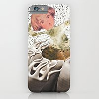 iPhone & iPod Case featuring lil cyborg by SaschaDee