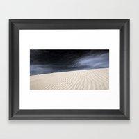 Dunes in Fuerteventura Framed Art Print