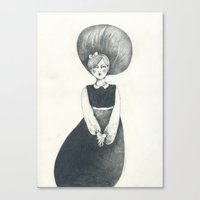 New Girl Canvas Print