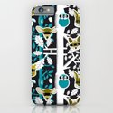 Animals play hide&seek in forest (color2) iPhone & iPod Case